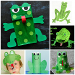 Cute Frog Crafts for Kids to Create