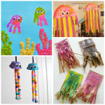 Wiggly Jellyfish Crafts for Kids to Make