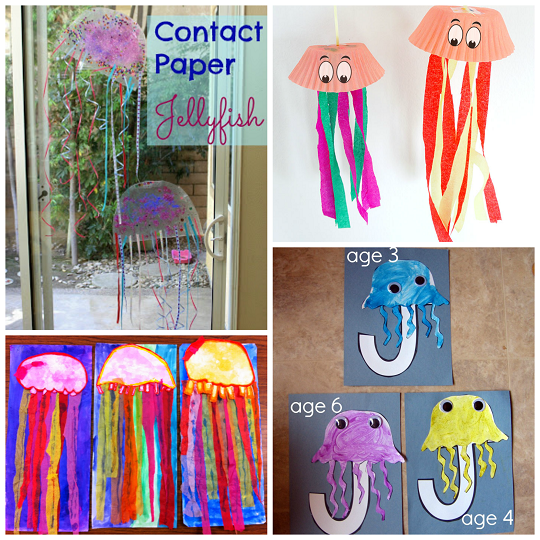 Wiggly Jellyfish Crafts for Kids to Make - Crafty Morning