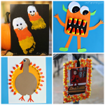 Candy Corn Crafts for Kids to Make