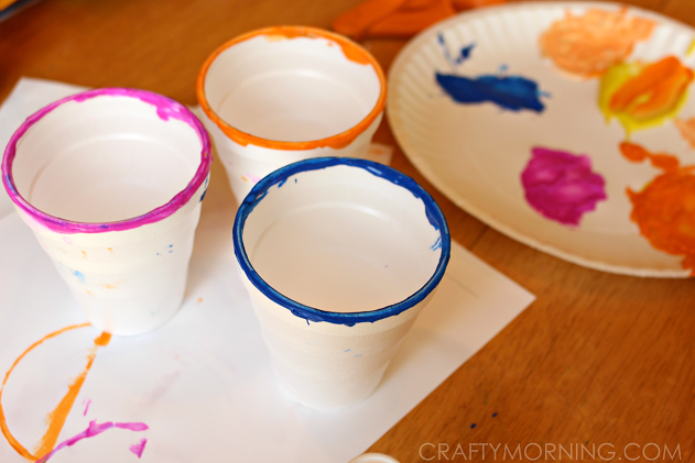 circle-cup-painting-for-kids-craft
