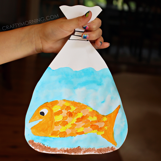 goldfish-in-a-bag-kid-craft-idea-