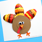 Plastic Spoon Turkey Craft for Kids
