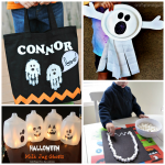 Non-Spooky Halloween Ghost Crafts for Kids
