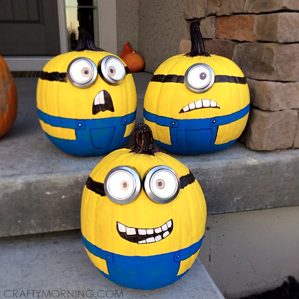 despicable-me-minion-no-carve-pumpkin-decorating