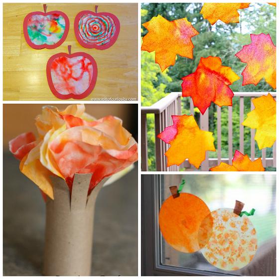 fall-coffee-filter-kids-craft-ideas