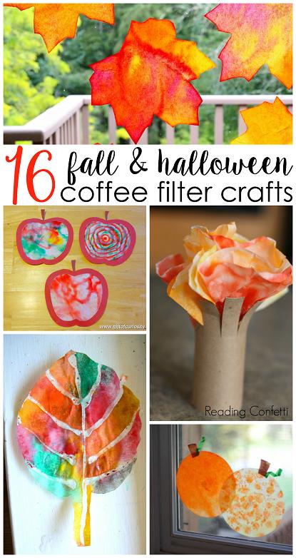 fall-halloween-coffee-filter-kids-crafts