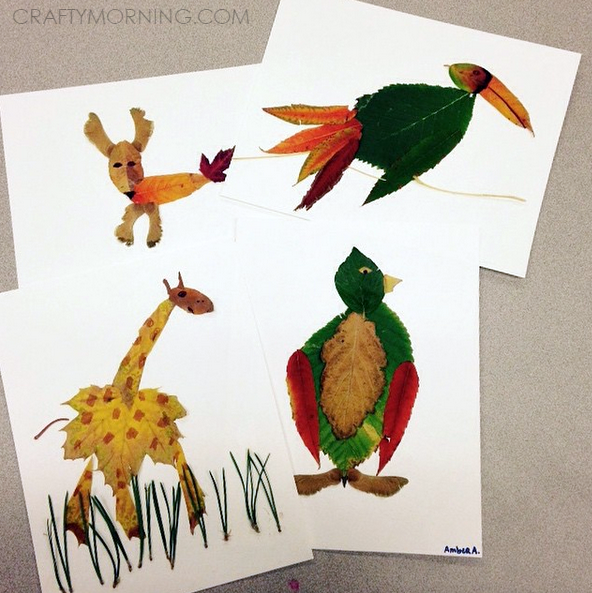 fall-leaf-animals-kids-crafts