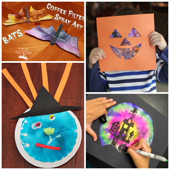 halloween-coffee-filter-crafts-for-kids