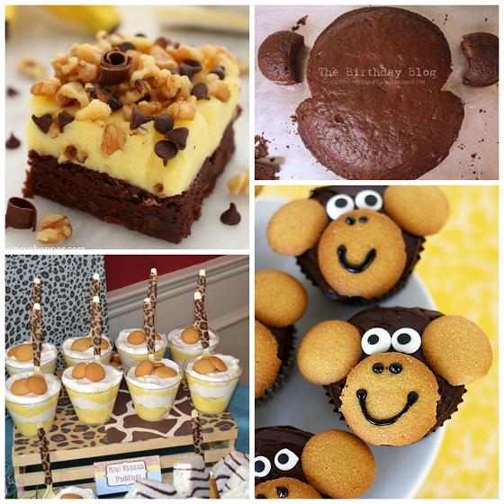 monkey-baby-shower-dessert-ideas