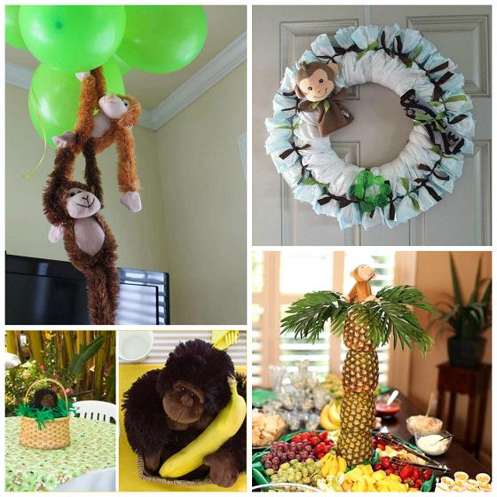 monkey-baby-shower-diy-decorations