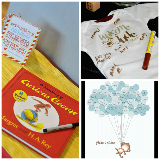 monkey-baby-shower-guestbook-ideas