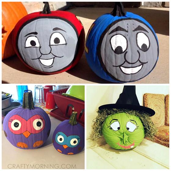 no-carve-halloween-pumpkins-for-kids