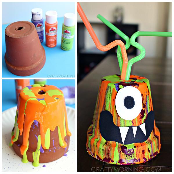 paint-drip-monster-pot-kids-halloween-craft