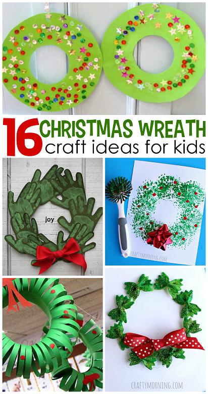 christmas-wreath-craft-ideas-for-kids-
