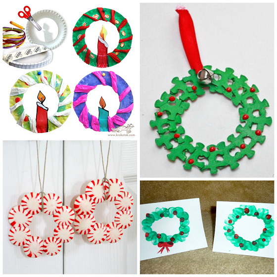 christmas-wreath-crafts-for-kids-