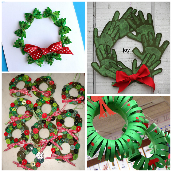 Christmas Wreath Craft Ideas For Kids Crafty Morning
