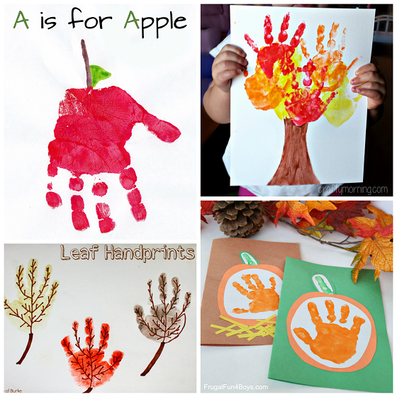 Fall Handprint Craft Ideas For Kids Crafty Morning