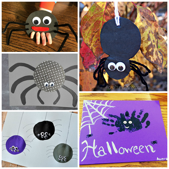 cute-spider-crafts-for-kids-on-halloween