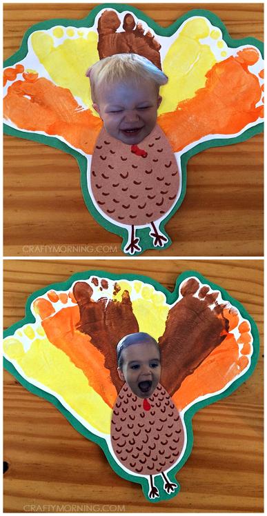 footprint-turkey-face-thanksgiving-kids-craft