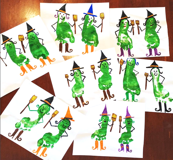 footprint-witch-halloween-kids-craft-