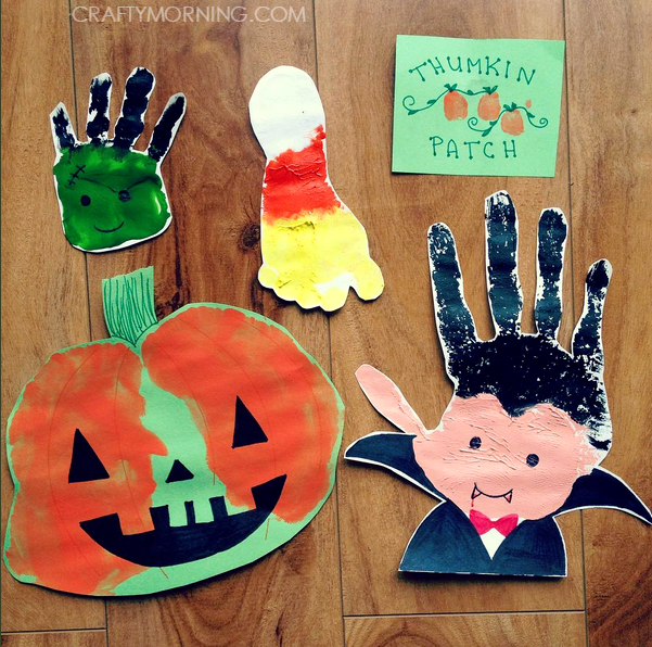 halloween-footprint-handprint-crafts-for-kids