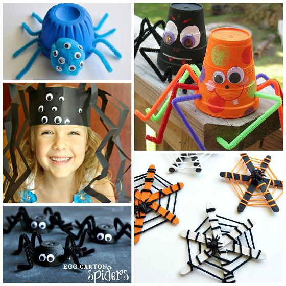 halloween-spider-crafts-for-kids