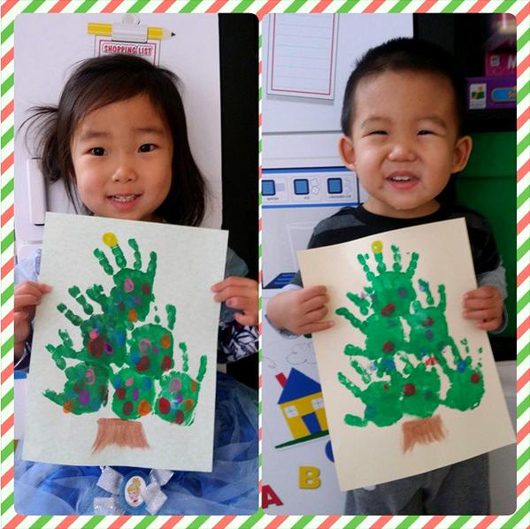handprint-christmas-tree-kids-craft-idea