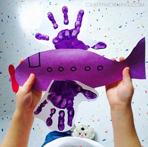 handprint-airplane-craft-for-kids