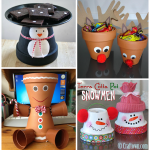 Creative Terra Cotta Pot Christmas Crafts