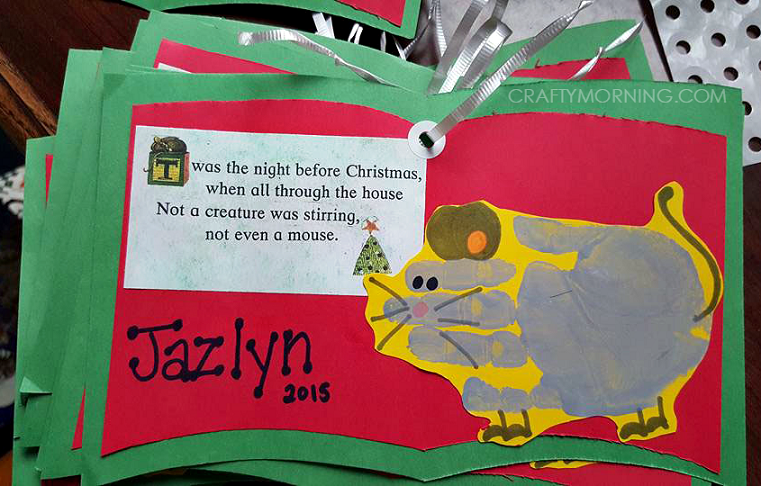 twas-the-night-before-christmas-handprint-mouse-craft