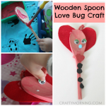 Wooden Spoon Love Bugs (Kids Craft)