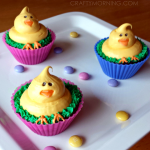 Adorable Easter Chick Cupcakes
