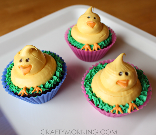cute-easter-chick-cupcakes-idea