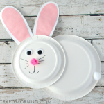 Paper Plate Bunny Rabbit Craft for Kids