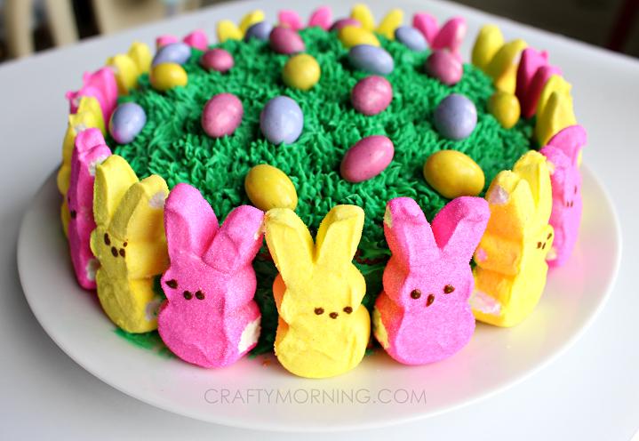 peeps-marshmallow-easter-cake