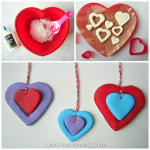 DIY Clay Heart Pendants for Kids to Make