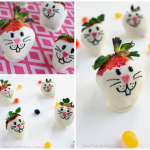 White Chocolate Strawberry Bunnies