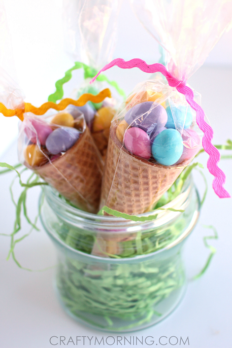 easter-cone-mm-candy-gifts