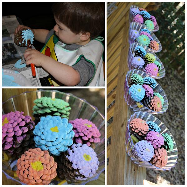flower-pinecone-kids-craft
