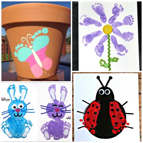 footprint-spring-crafts-for-kids