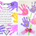 Printable Handprint Mother's Day Poem