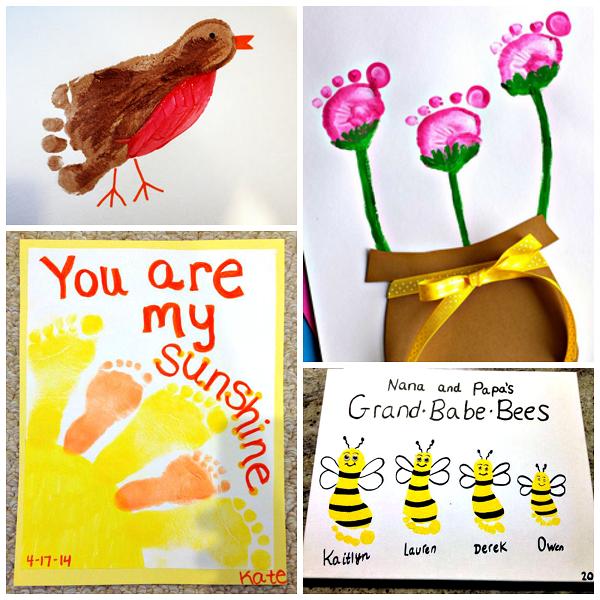 spring-footprint-crafts-for-kids