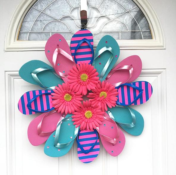 flip-flop-wreath-craft-for-summer