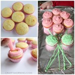 Pull-Apart Cupcake Flower Bouquet for Mom