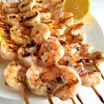 Grilled Lemon Shrimp Kabobs