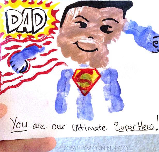 handprint-superhero-superman-fathers-day-craft