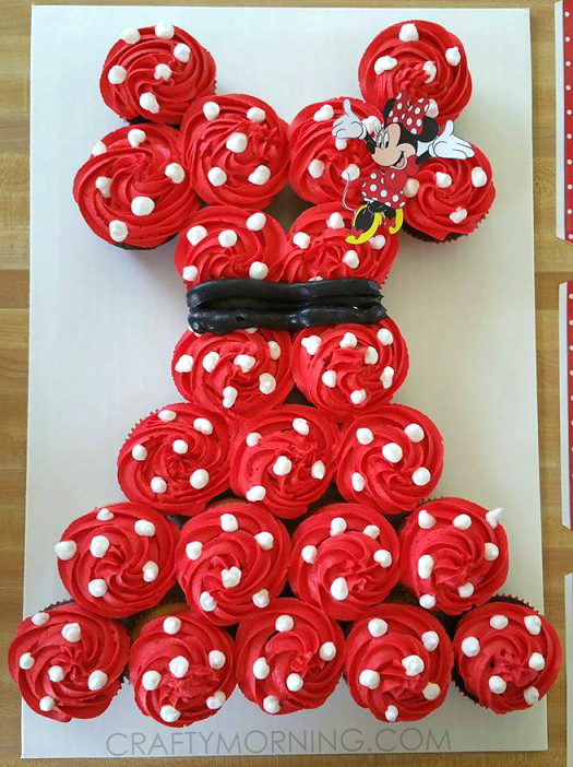 minnie-mouse-cupcake-cake