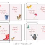 Mother's Day Seed Packet Printables