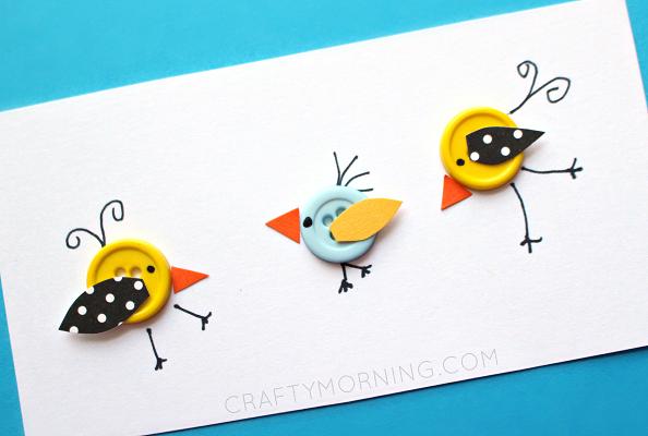 bird-button-kids-craft